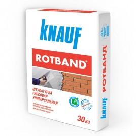 Ротбанд KNAUF, штукатурка универсальная гипсовая, 30кг
