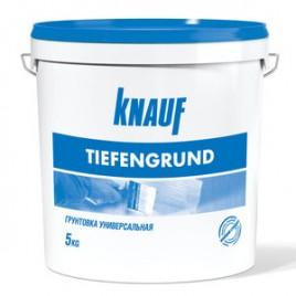 Тифенгрунд KNAUF, грунтовка для гипсокартона, 5л