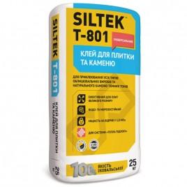 Т-801 SILTEK, клей для плитки универсальный, 25кг