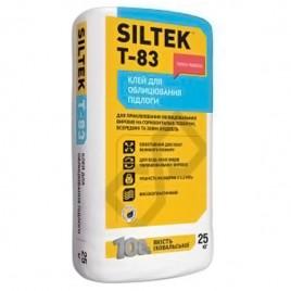 Т-83 SILTEK, клей для теплого пола, минеральных и исскуственных плит, большого размера, 25кг