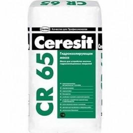 СR 65 CERESIT, полимерцементная гидроизоляционная смесь
