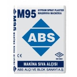 Гипсовая штукатурка машинного нанесения М95 ABS
