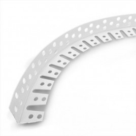 Защитный угол для арок пластиковый (Угол гибкий). 3м.