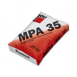 MPA 35 Baumit, штукатурка машинная цементно-известковая для наружных работ, 25кг