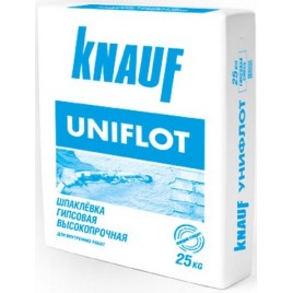 Унифлотт KNAUF, шпаклевка для швов, 25кг