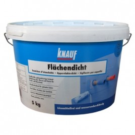 Каучуко-битумная Гидроизоляция Флехендихт KNAUF, ведро 5кг
