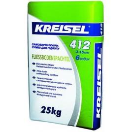 Смесь самовыравнивающая для пола KREISEL 412 от 3 до 15мм, 25кг