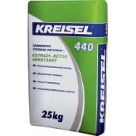 Цементная стяжка KREISEL 440 Estrich Beton, 25 кг