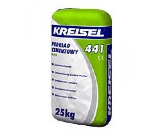 Цементная стяжка KREISEL 441 М-15 Estrich Beton, 25 кг