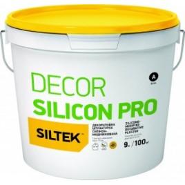 Силиконовая фасадная штукатурка SILTEK DECOR SILICON PRO, 25кг